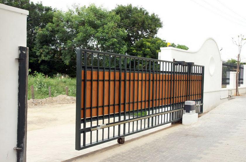 ворота на рол ках фото