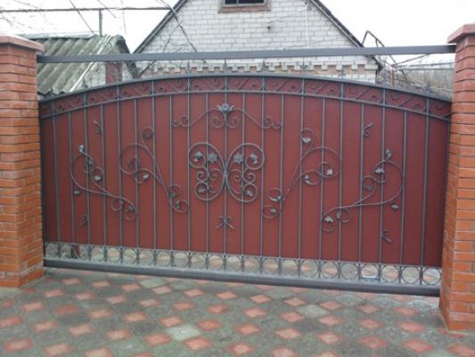 Купить ворота и калитку на роликах ворота автоматические cbvathjgjkm