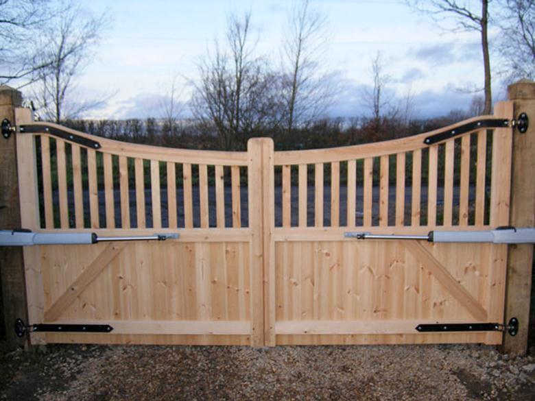 Сделай сам деревянные ворота и калитки