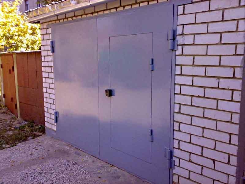 Стоимость железных дверей для гаража купить гараж в чегдомыне